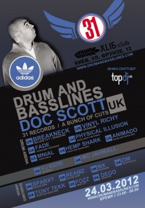 Drum and Basslines 4 Flyer