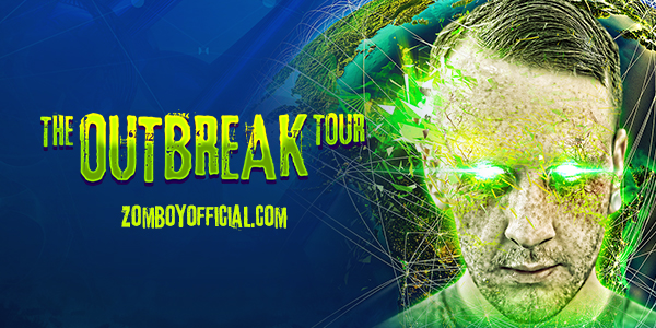 Zomboy - The Outbreak - USA Tour and new album
