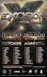 Excision 2015 USA Tour
