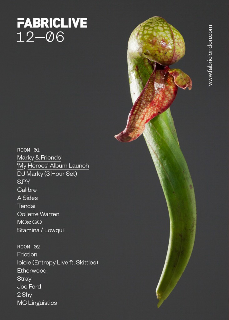 FABRICLIVE June 6th Flyer