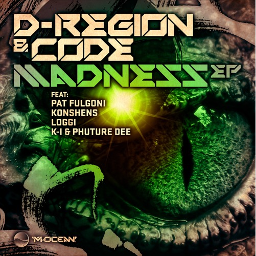 New Release - D-Region and Code - Madness EP